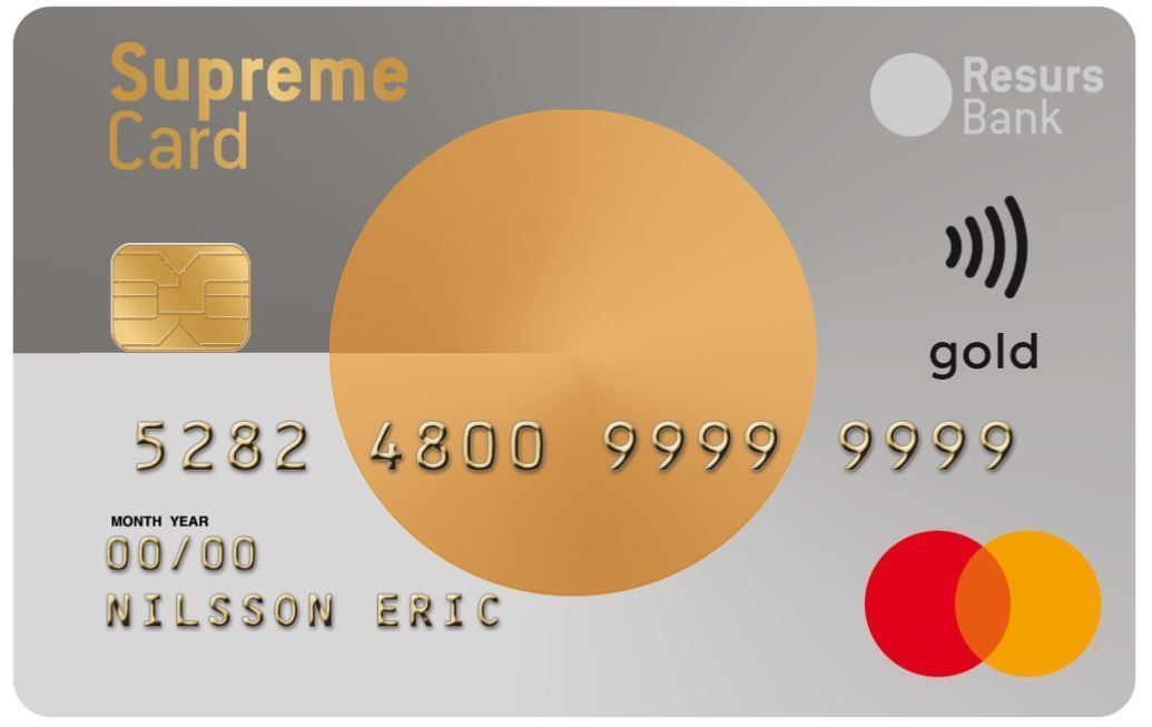 Resurs Bank Supreme Card